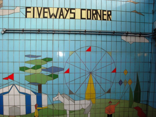 Fiveways Subway Tiling Detail