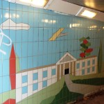 Fiveways Subway Tiling Detail Country House