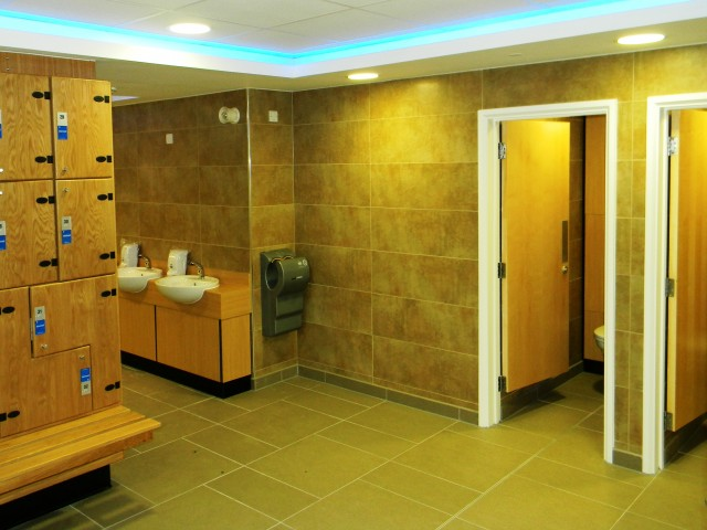 One Leisure, St. Neots - Male Changing Room3