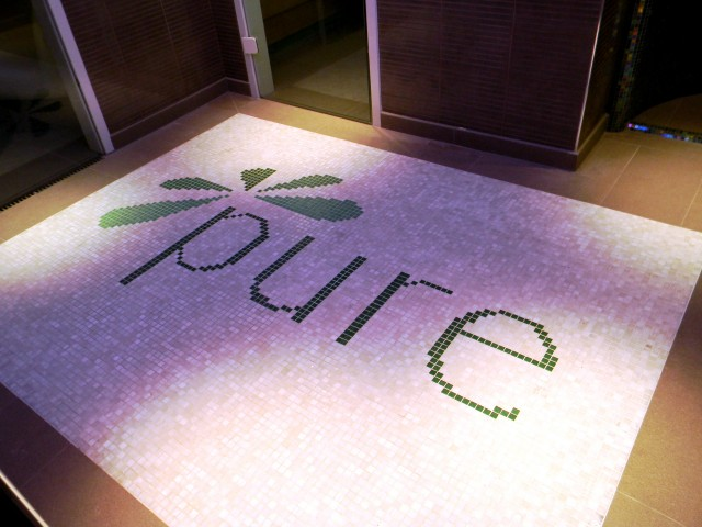 One Leisure, St. Neots - Pure Spa Feature Mosaic Floor