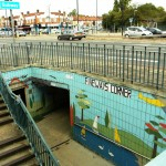 Fiveways Corner Subway - Northbound Entrance