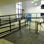 Garons Pool - Main Entrance Turnstiles