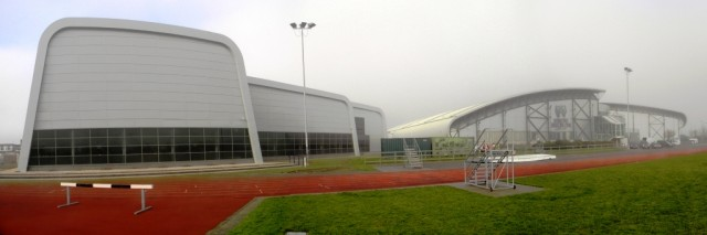 New Swimming & Dive Centre and existing Leisure Centre at Garons Park, Southend, Essex
