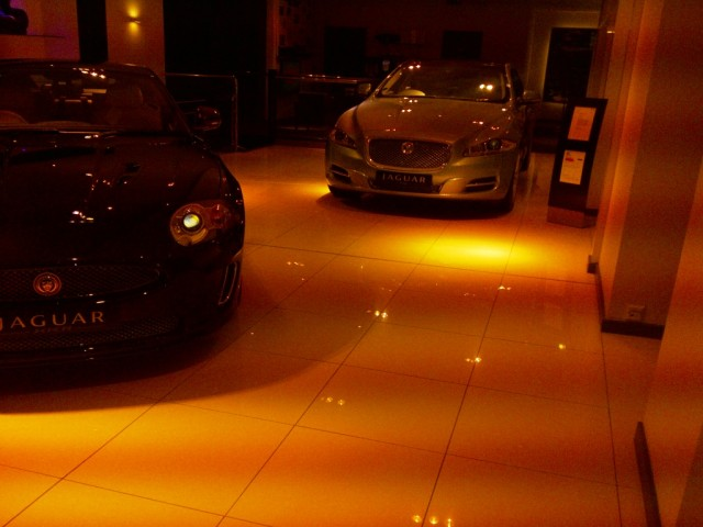 Stratstone Jaguar Showroom Mayfair 1