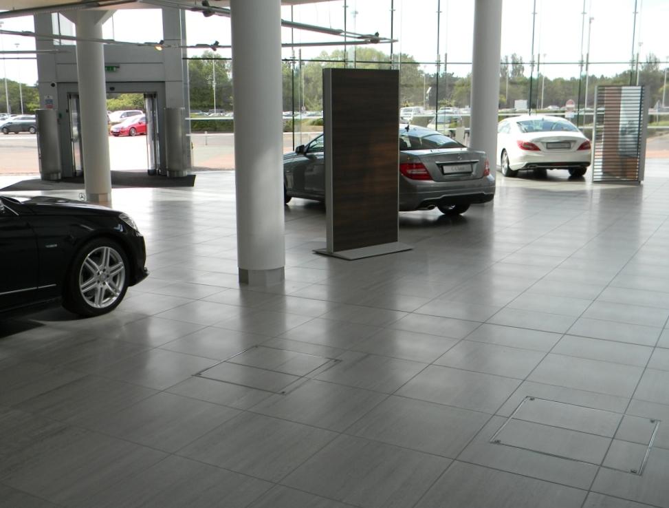 Mbuk main showroom floor 01 elite tiling ltd for Mercedes benz main office