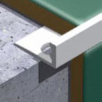 PVC Square Edge