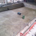 Screeding to Main Pool